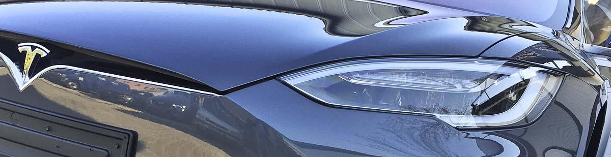 Tesla Model S Detailaufnahme