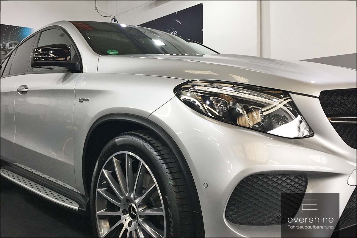 Mercedes GLE finish Bilder