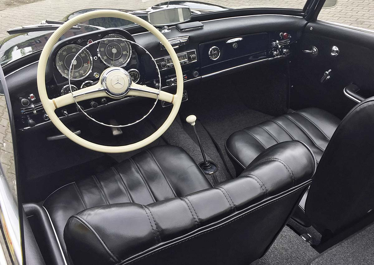 Innenraum SL190