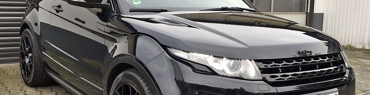 Aufbereiteter Land Rover Evoque