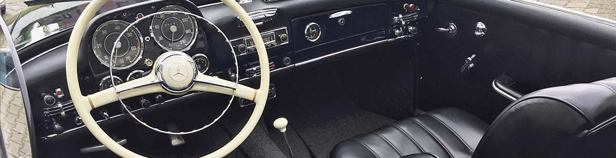 Mercedes SL190 Innenraum