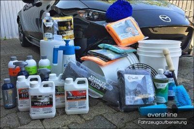 Autopflegeprodukte