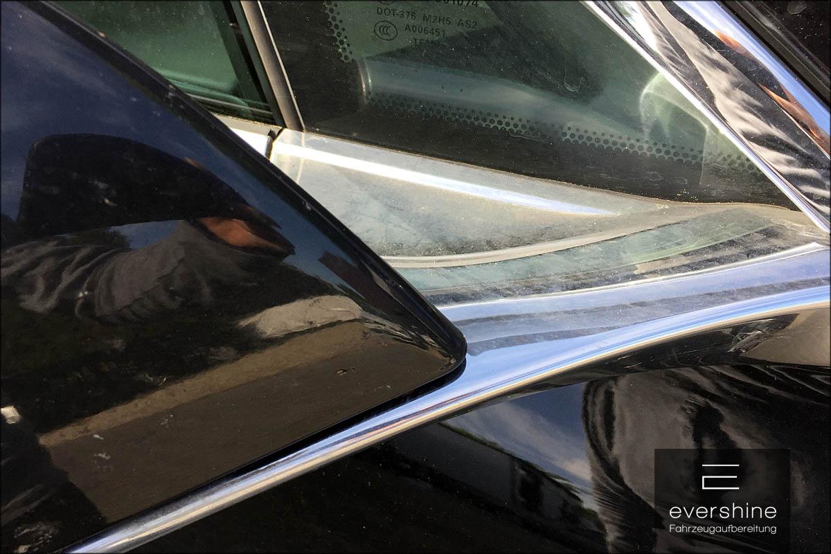 Verschmutzungen am Tesla Model S