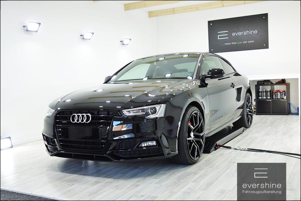 Audi A5 Kermikversiegelung Lackaufbereitung