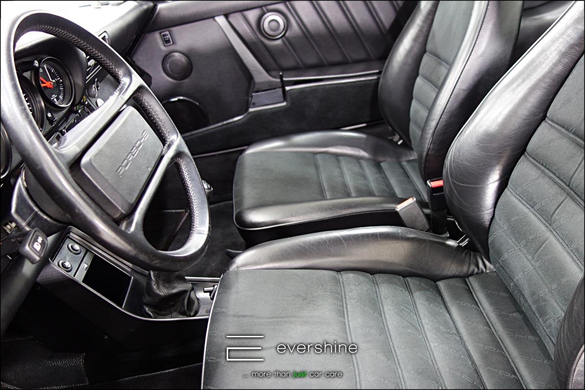 Innenraumreinigung bei evershine Fahrzeugaufbereitung - von der einfachen Reinigung bis zur Grundreinigung inkl. Polsterwaesche